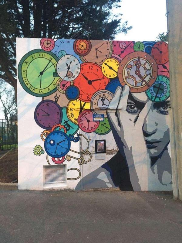 Fresque murale Bagneux 2