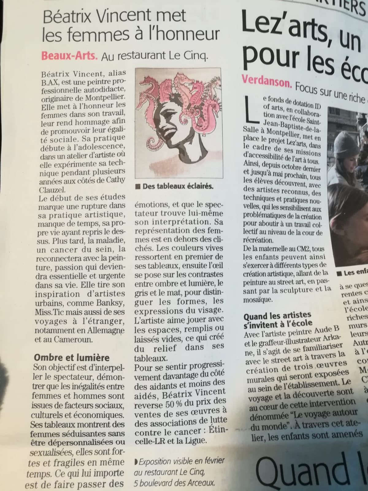 Article midi libre 22 fevrier 2019
