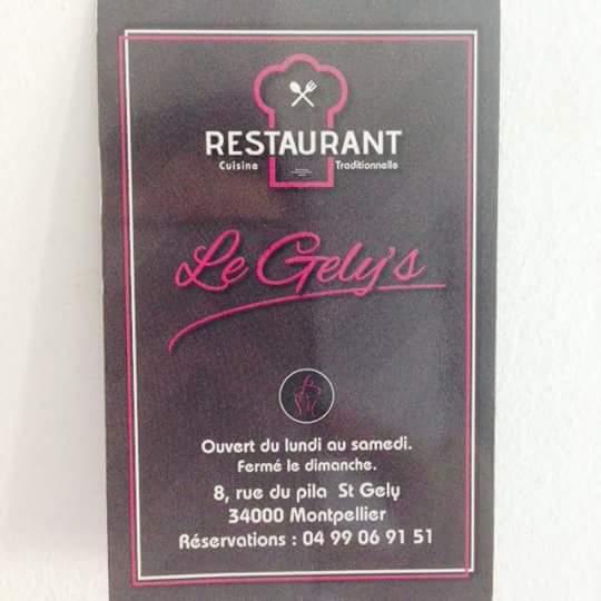 Restaurant Le gély's
