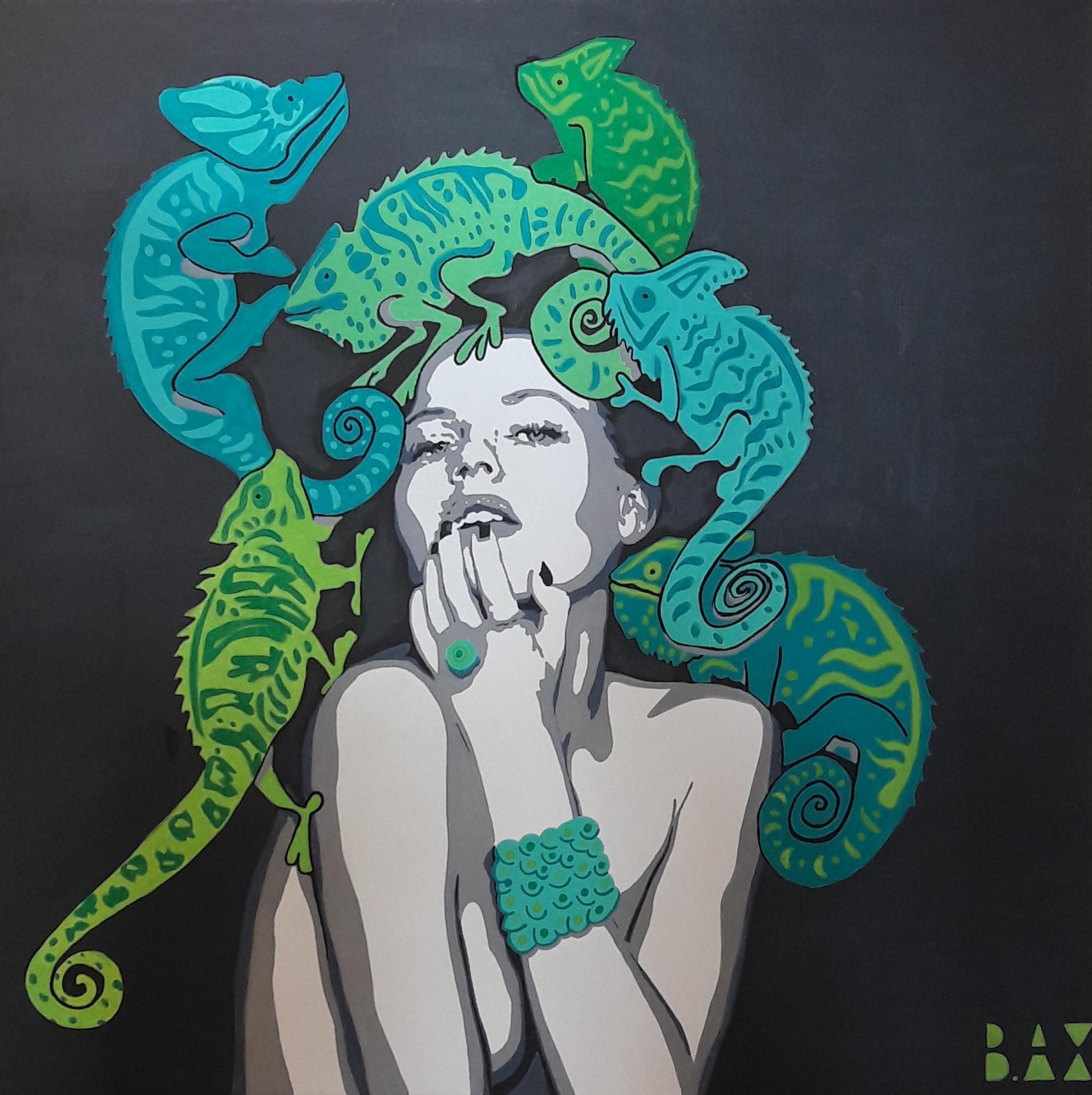 Medusa chameleon