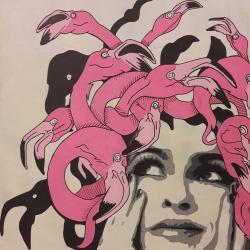Medusa flamingo