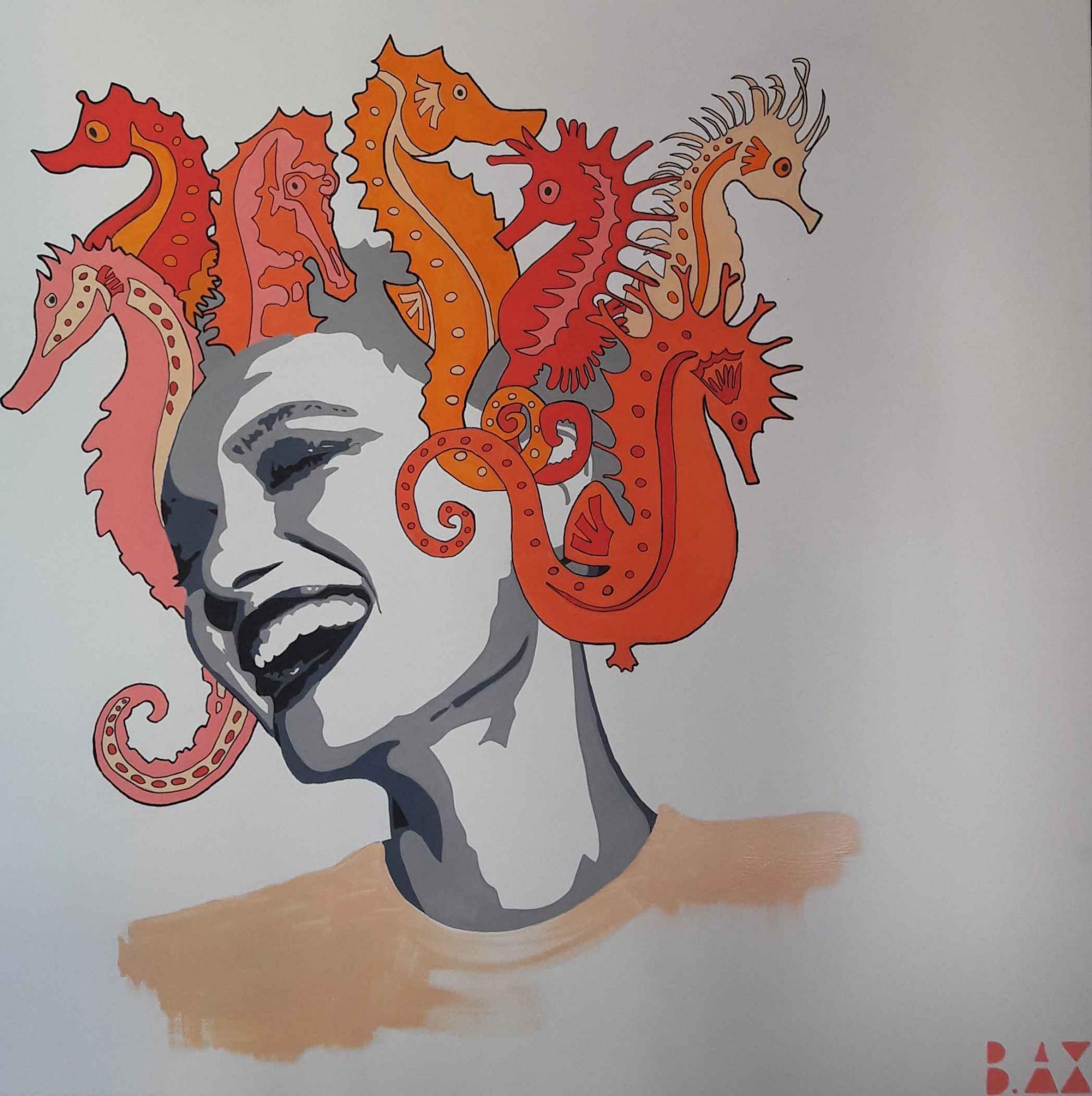 Medusa seahorse