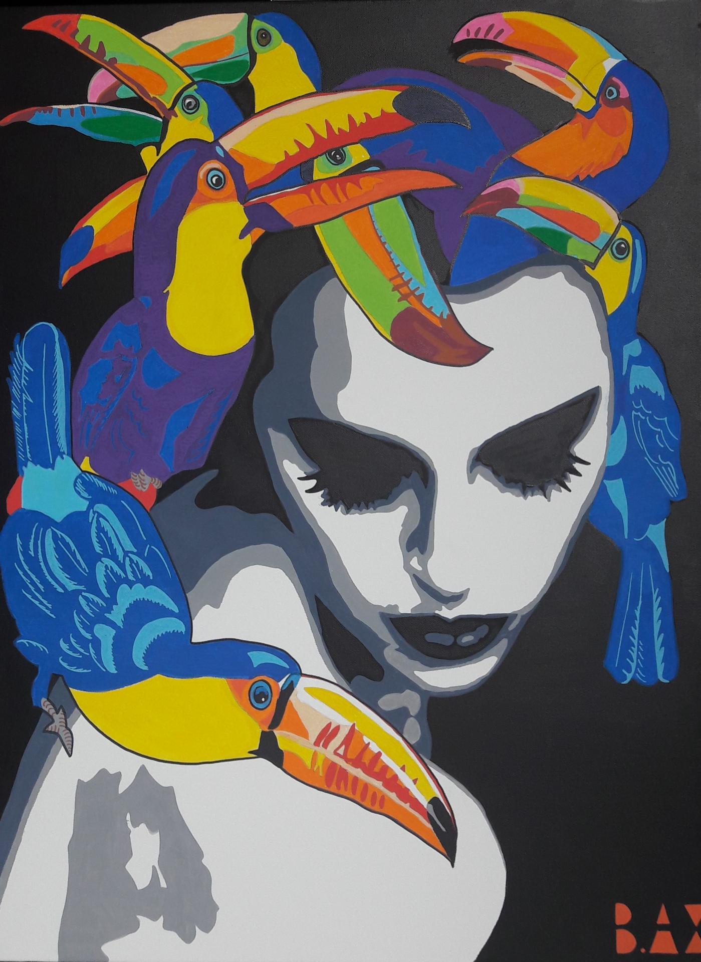 Medusa toucan