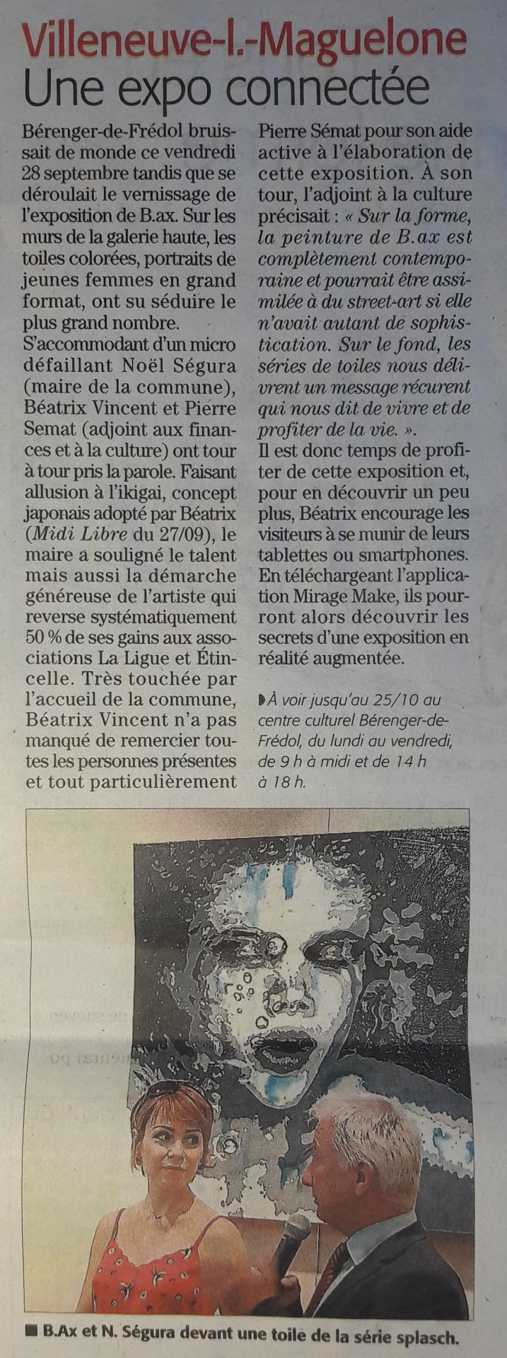 Midi libre article du 01 octobre 2018